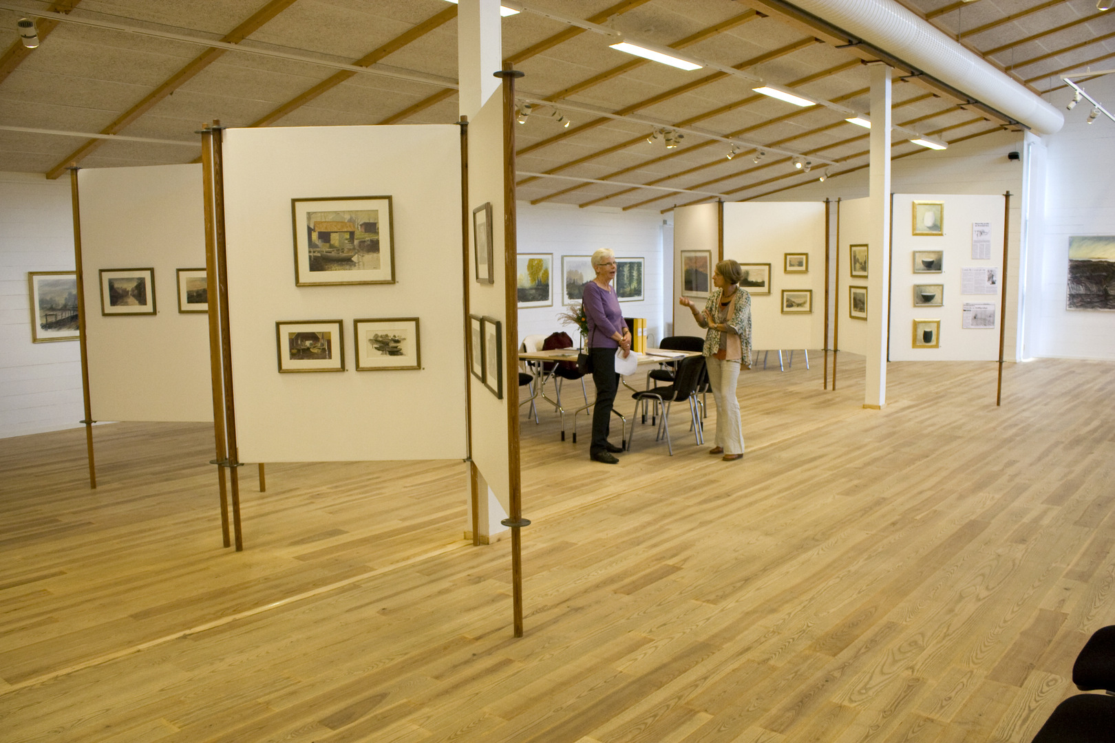 Västerviks museum interiör